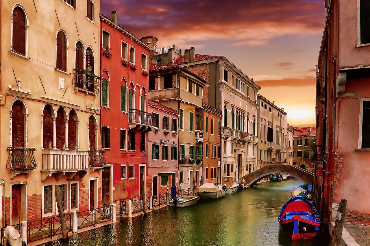 Venice: Land of canals and Gondola boats
