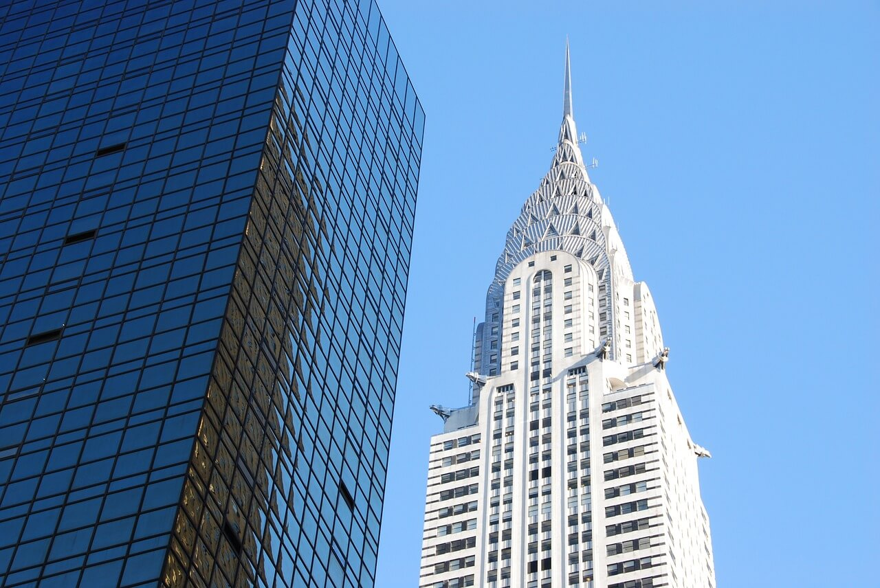 Picture of Chrysler Building in New York