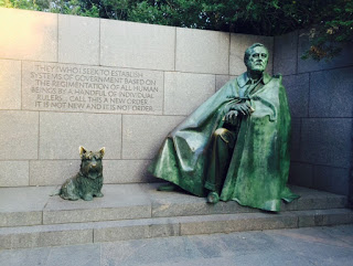 Franklin Roosevelt memorial, Washington DC