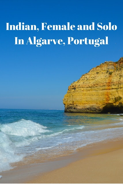Indian, Female And Solo In Algarve, Portugal