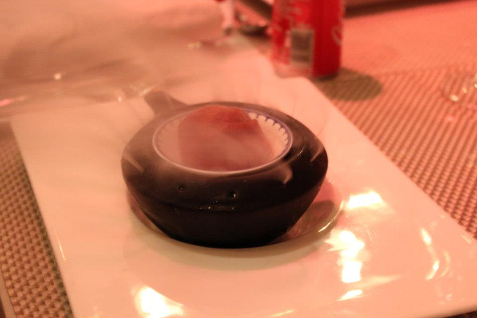 A photo of a refreshing sorbet served at Taj Westend