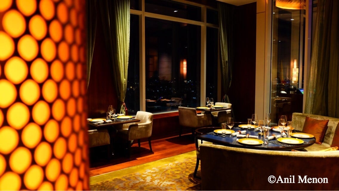 A photo of a restaurant inside Shangrilla in Bangalore