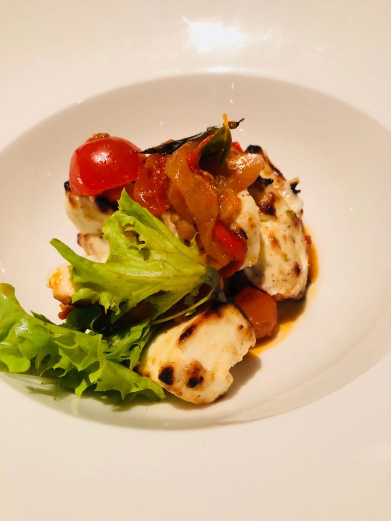 This is a photo of a paneer dish served at windmills in Bangalore