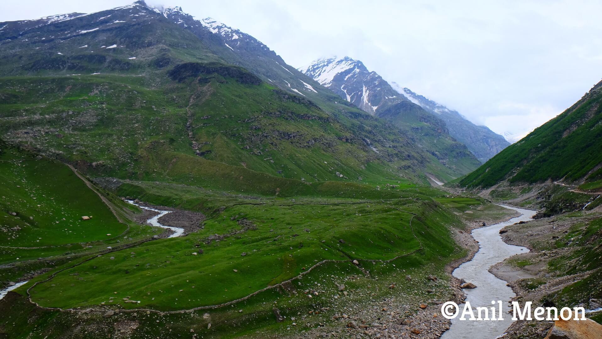 A Mountainous range in India