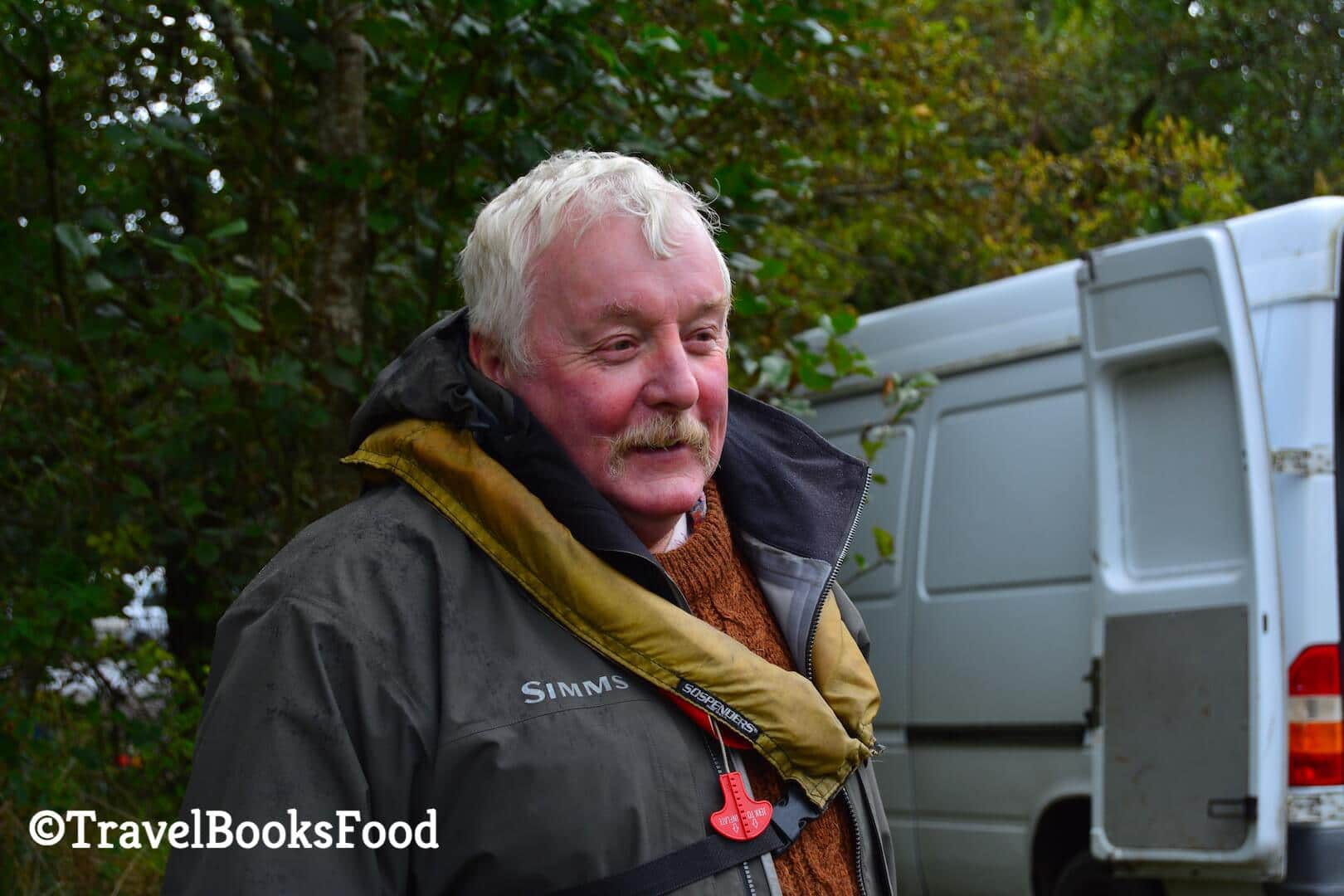 A picture of an Irish Fisherman in Killarney. Both him and his friends were really helpful