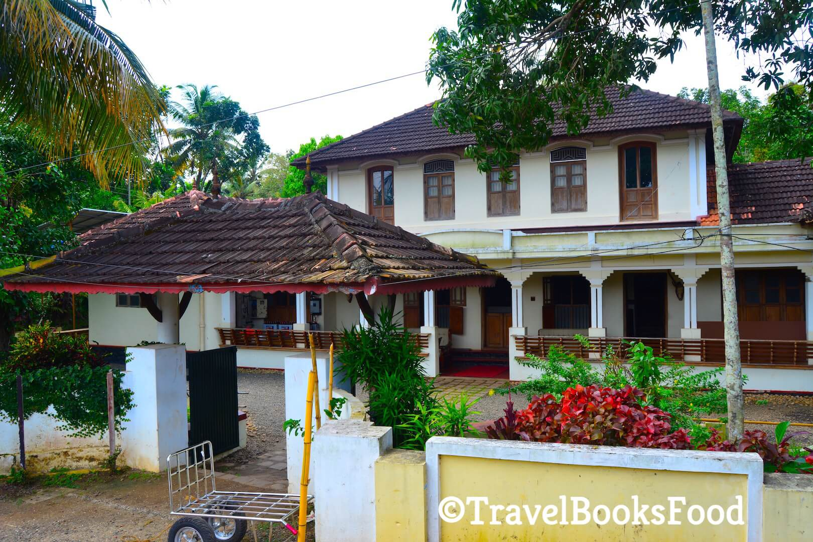 Photo of a traditional house/resort in Kerala, India