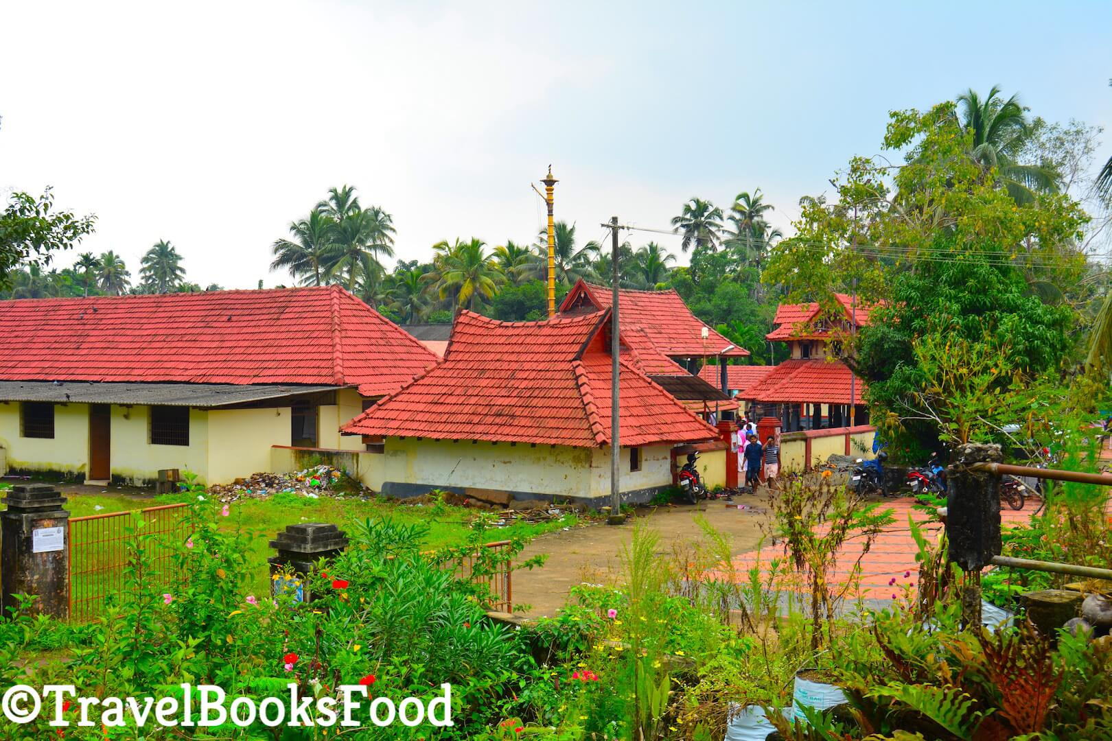 Photo of a Hindu Temple in Kerala, India