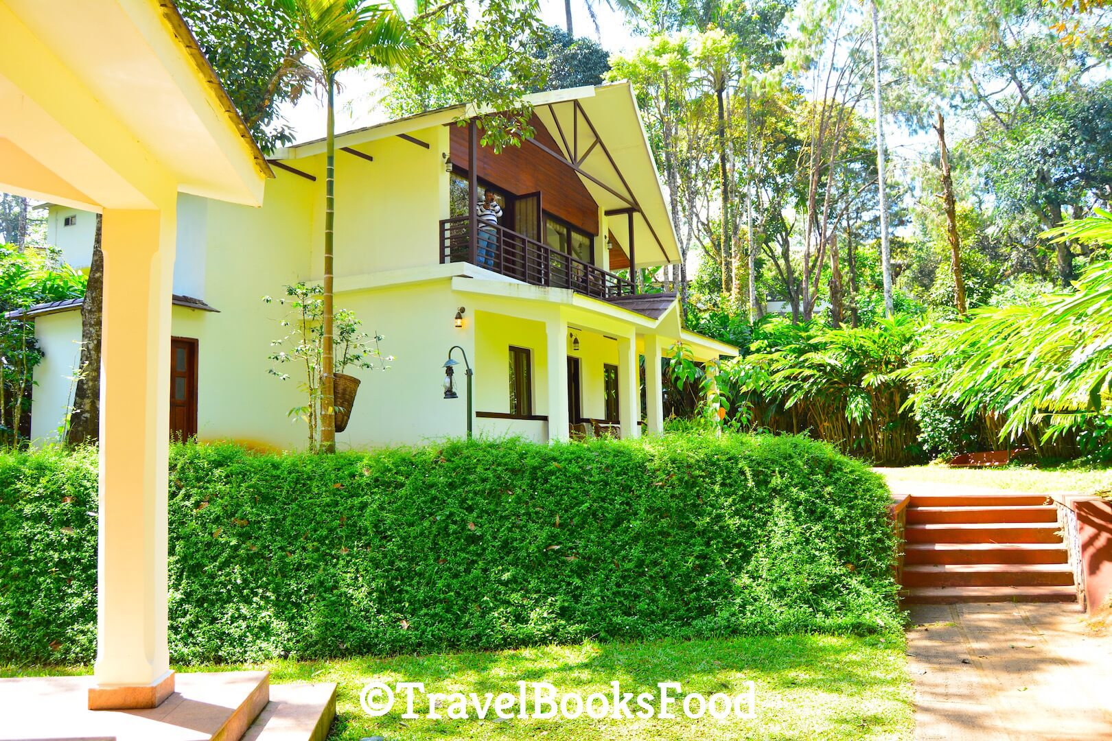 Photo of a luxury villa surrounded by trees in Carmelia Haven Resort, Thekkady, Kerala, India