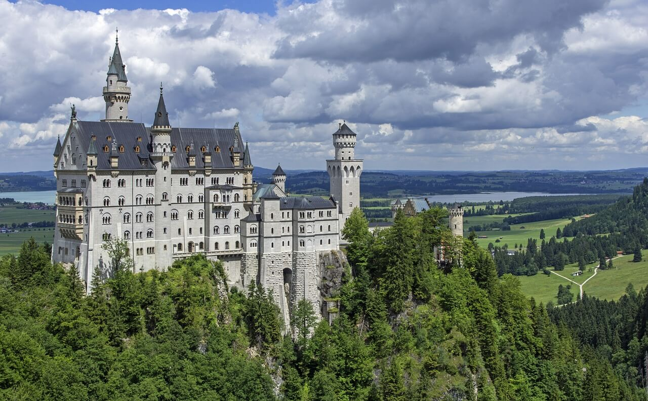 This is the photo of Neuschwanstein castle in Germany
