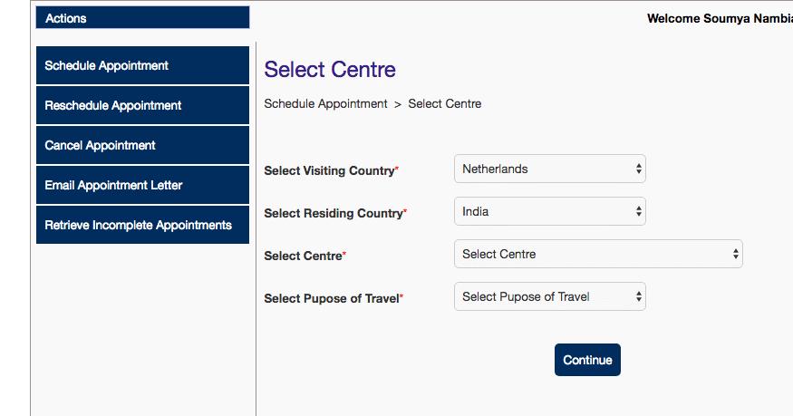 Schengen Visa Netherlands