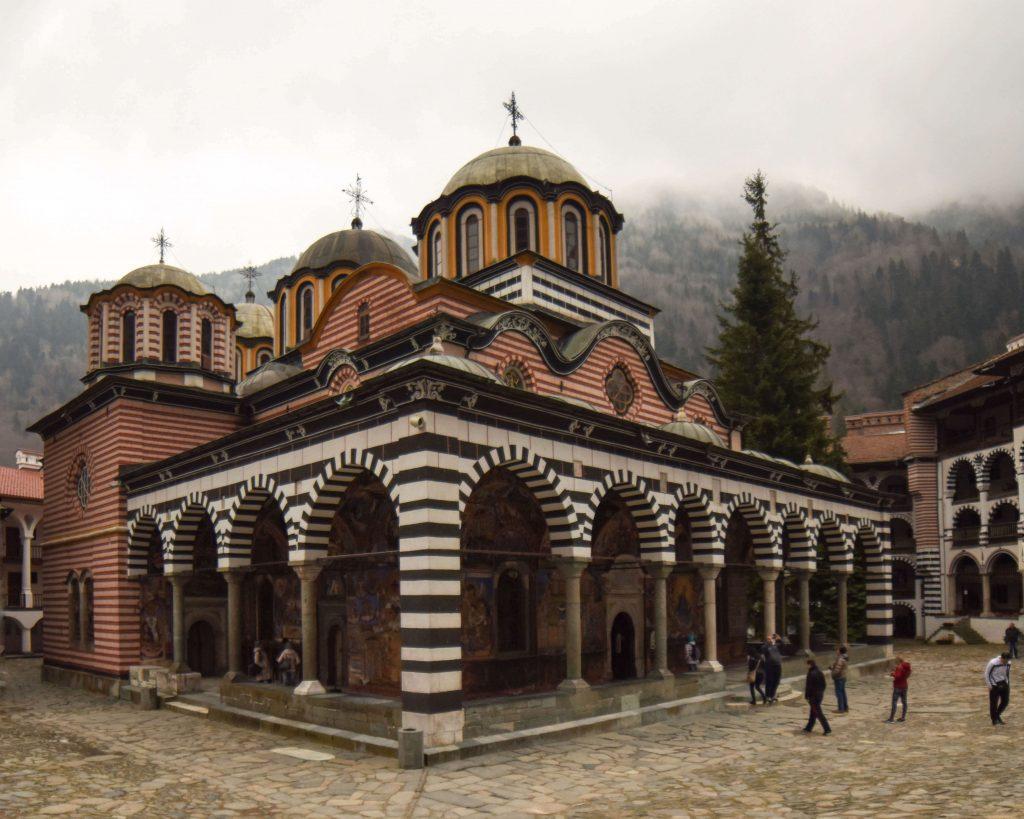 A photo of a monastery in Vitosha, Sofia, Bulgaria