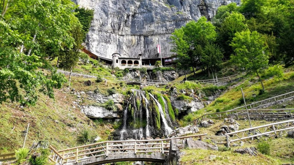 St Beatus Caves in Switzerland