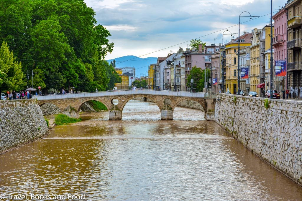 Sarajevo Bridge where the Heir of Austria was assassinated leading to World War 1