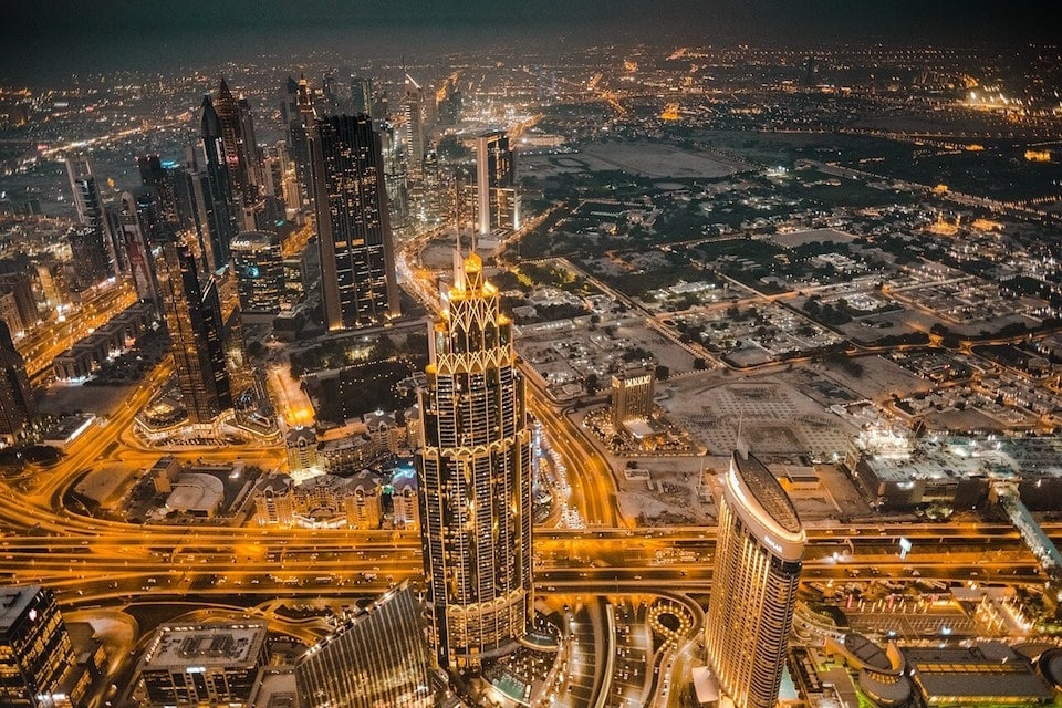 Some of the places to visit during a Dubai itinerary - Dubai Skyline