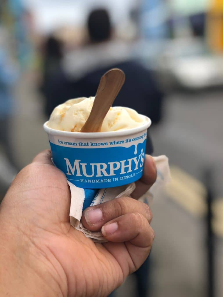 Sea Salt Ice cream from Murphy's in Dingle