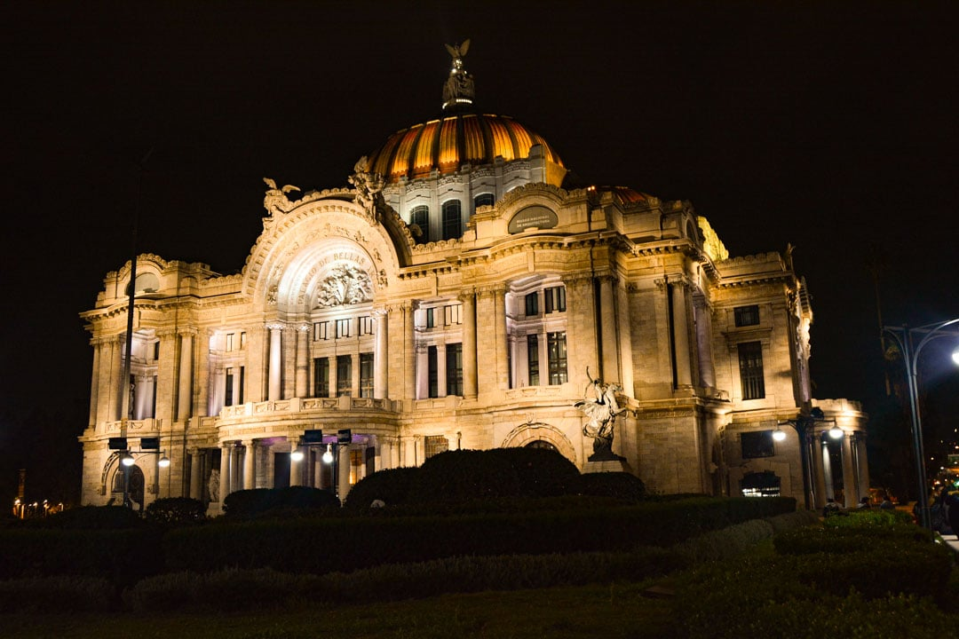Bellas Artes in Mexico City: A famous landmark during your Mexico City trip