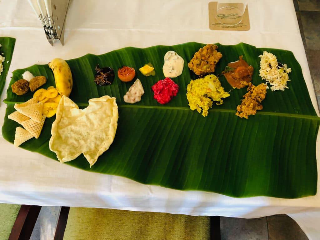 Vegetarian Feast in Kerala