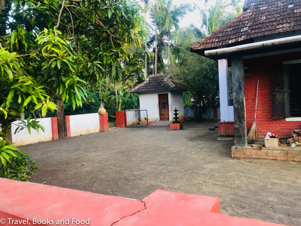 A house in Kerala with wooden tiles