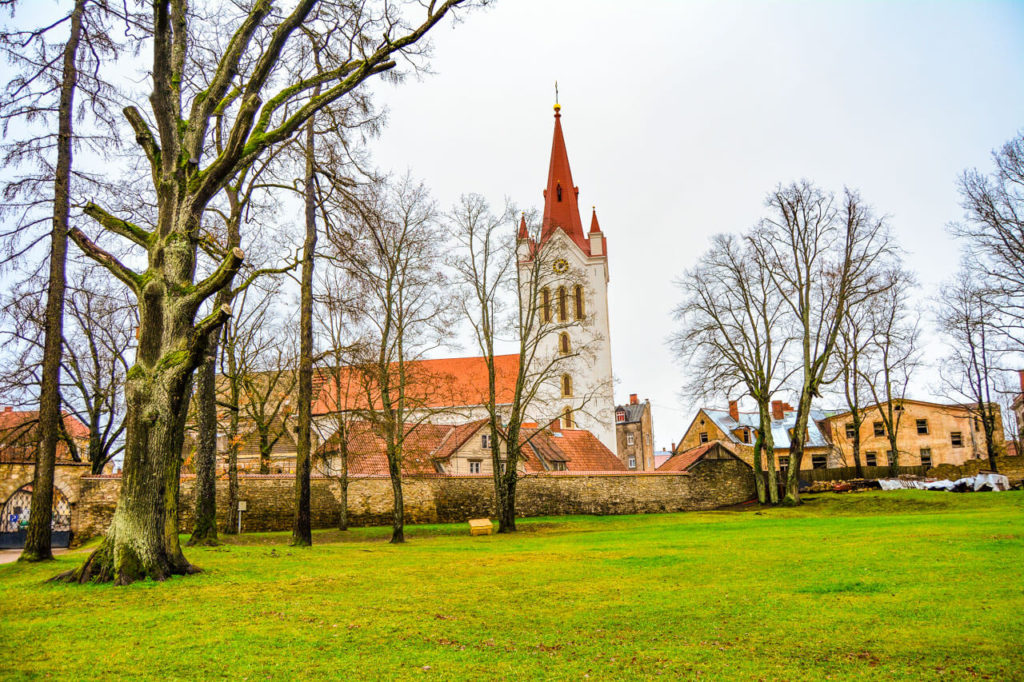 A gorgeous church in Cesis - Europe Travel Tips