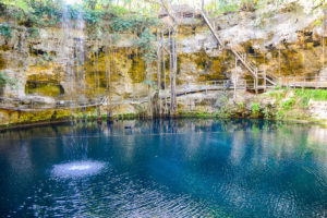 A cenote in Mexico: One of the best places to visit in Mexico