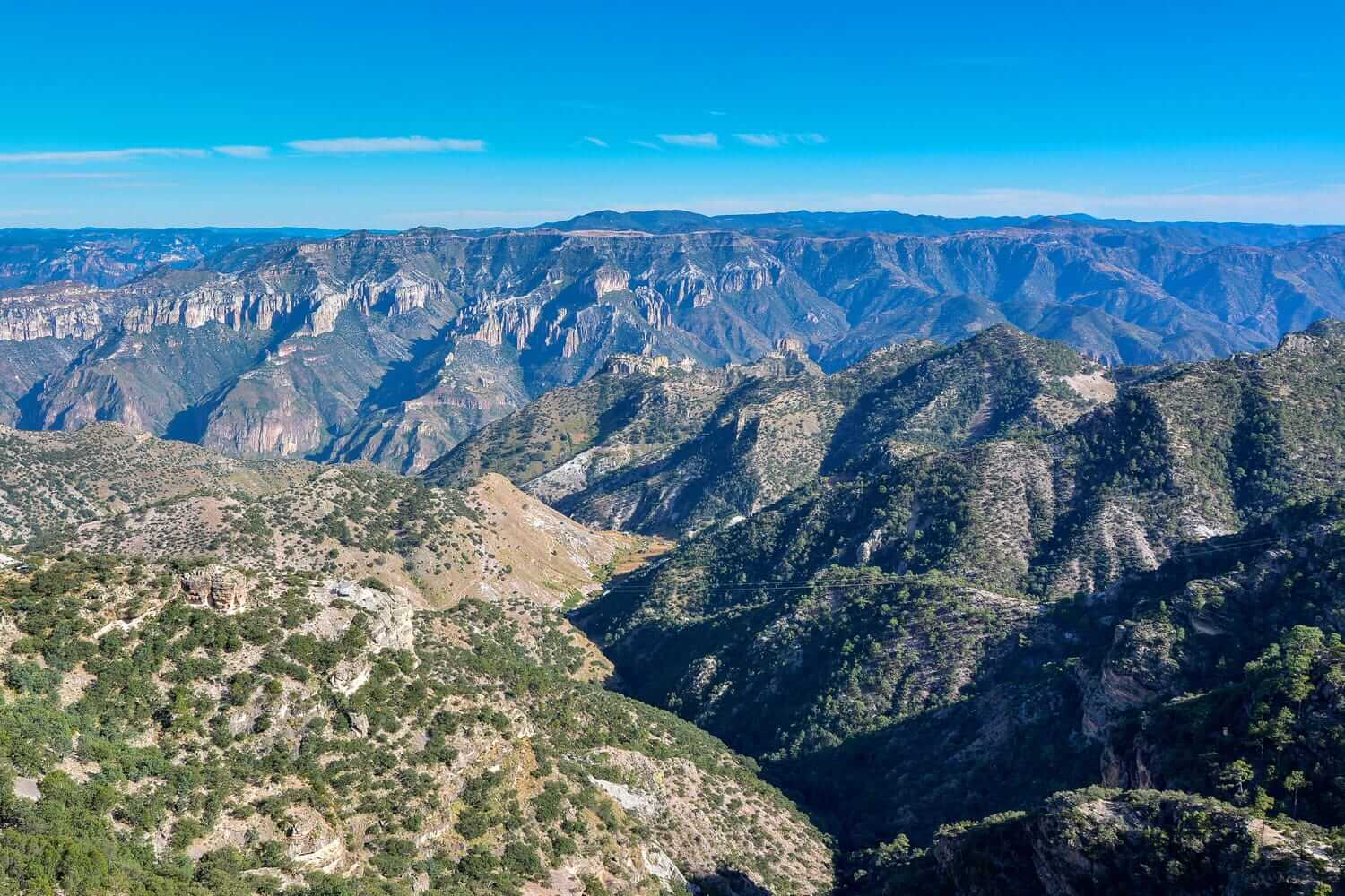 A canyon in North Mexico