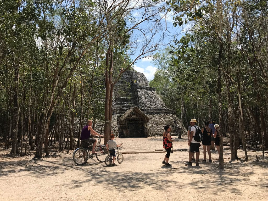 Some Mayan ruins in Mexico
