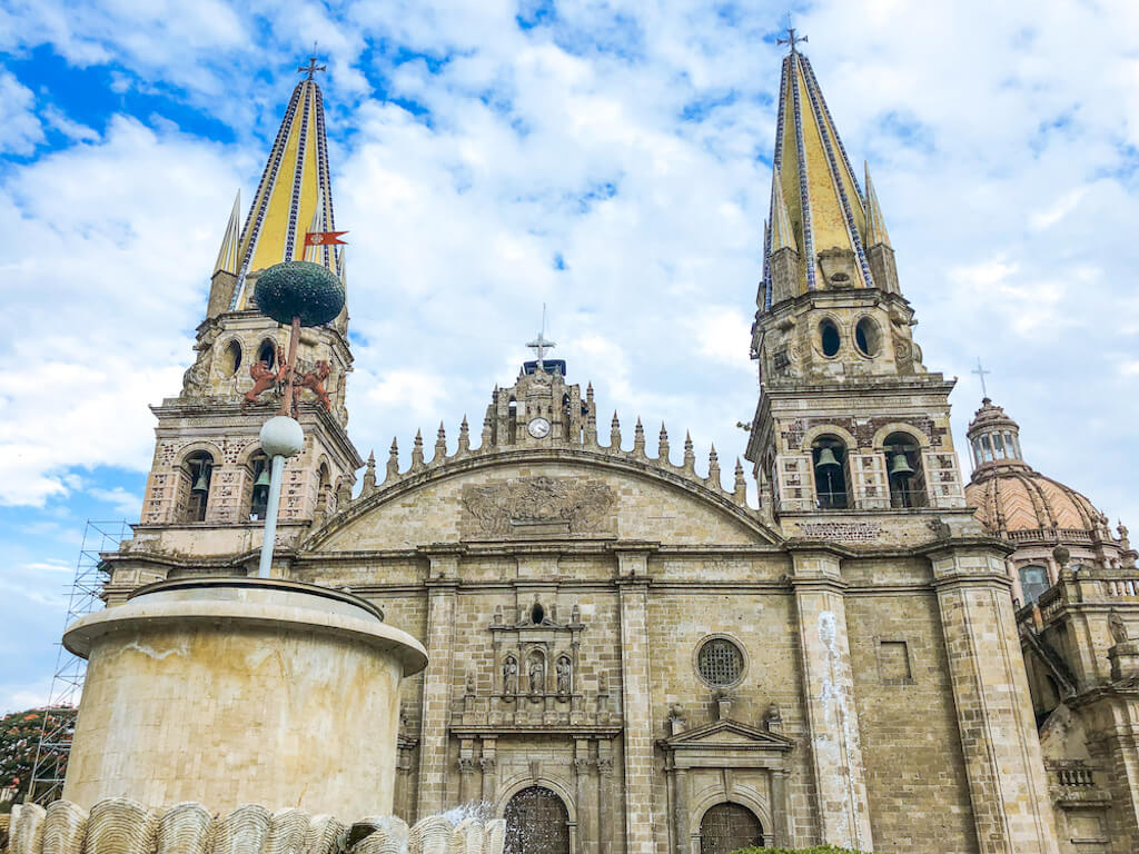 A church cathedral in Mexico
