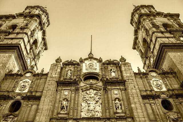 A church cathedral made of stone
