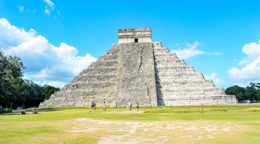 A picture of Chichen Itza in Mexico