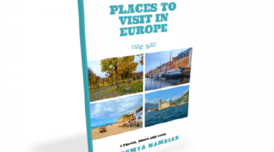 Places to visit in Europe_Book_Cover
