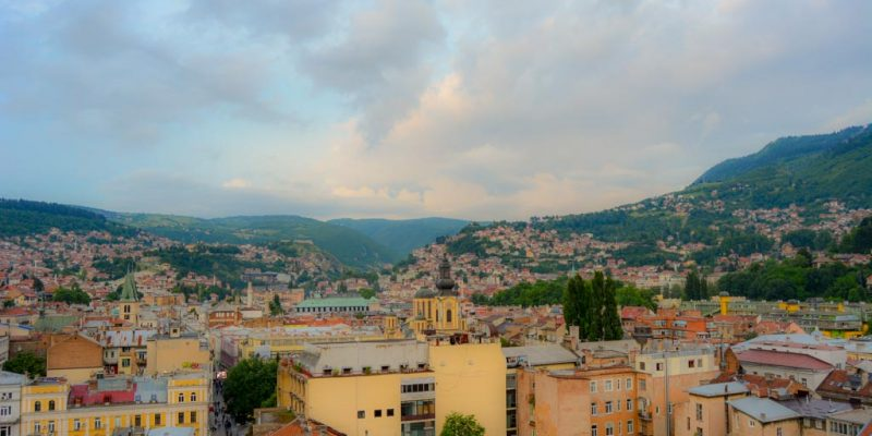 A Sarajevo view point is a must among your things to do in Sarajevo